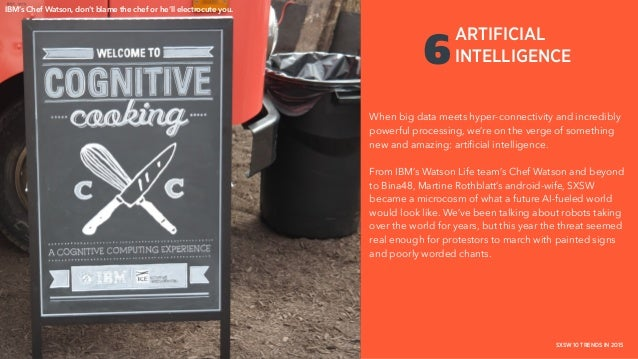 PLACE PHOTO HERE THE COLLECTIVE / HAVAS MEDIA + CAKE / HAVAS WORLDWIDE SXSW 10 TRENDS IN 2015 6 When big data meets hyper-...