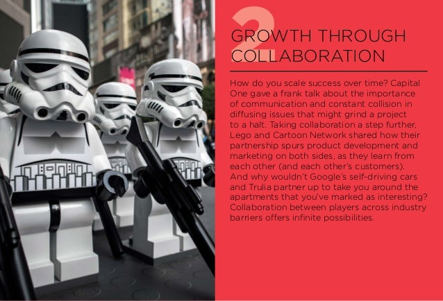2GROWTH THROUGH COLLABORATION How do you scale success over time? Capital One gave a frank talk about the importance of co...