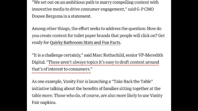 This is not a content strategy.