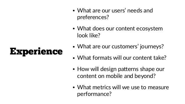 • Phone interviews • Onsite interviews • Usability tesIng • Website polls • Social listening • Keyword trends • Website se...