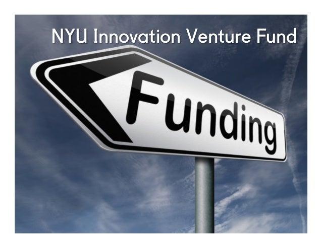 @NYUEntrepreneur NYU Innovation Venture Fund