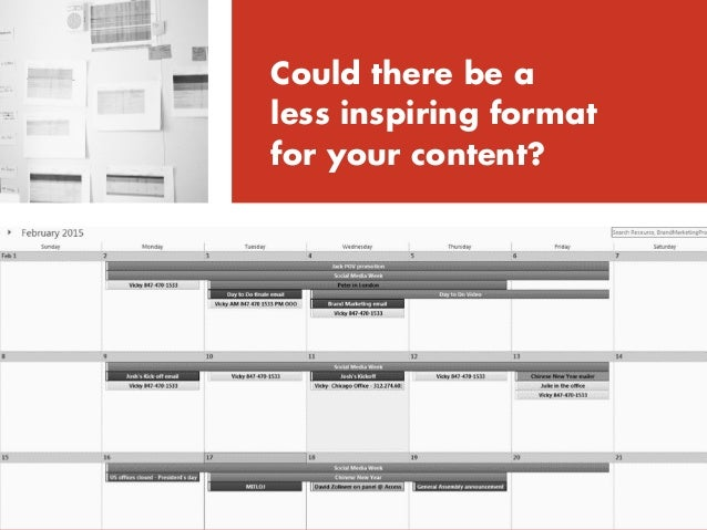 """Gimmicky efforts to """"bulk up"""" your editorial calendar"""