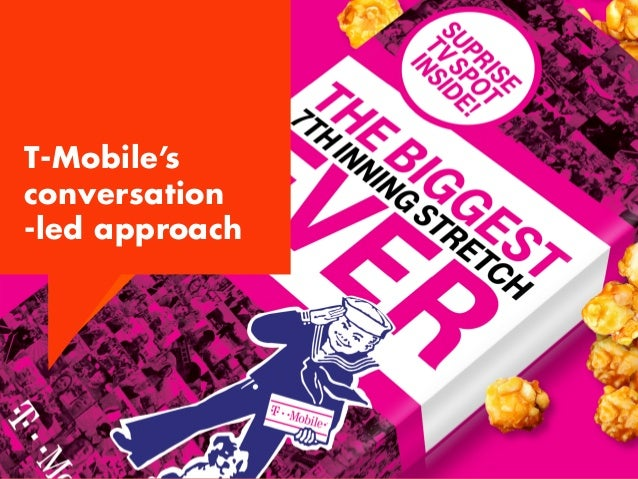 Because baseball fans in particular love accessing stats, replays and live feeds during games, T-Mobile has worked to deli...