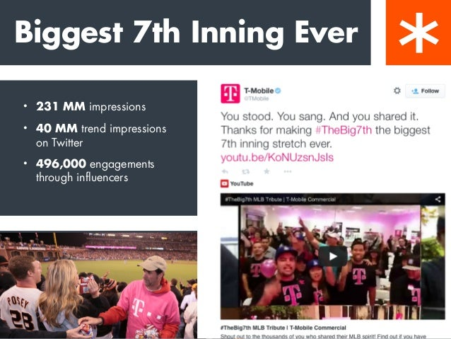 """Be on the way, not in the way. """"T-Mobile and Major League Baseball chose 'Take Me Out to the Ball Game' as the theme of th..."""