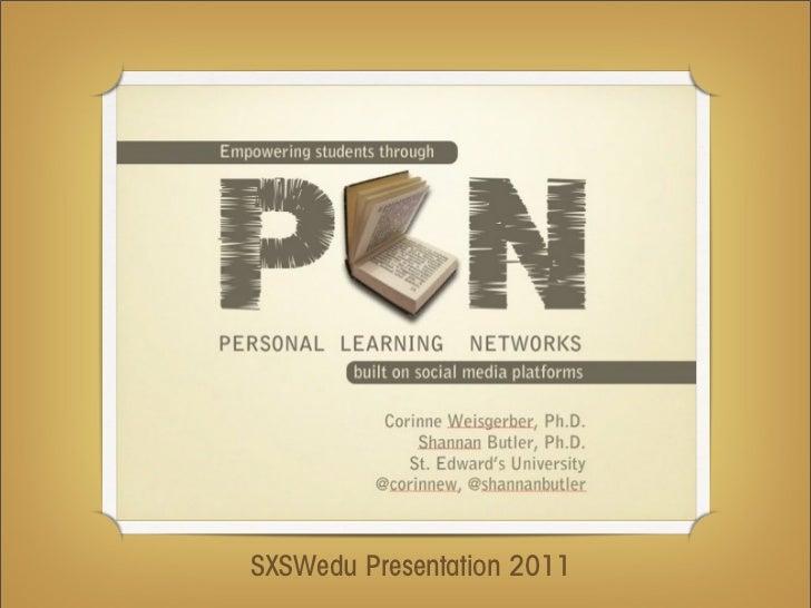 SXSWedu Presentation 2011
