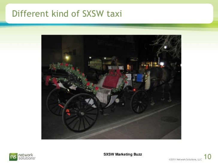 Different kind of SXSW taxi<br />