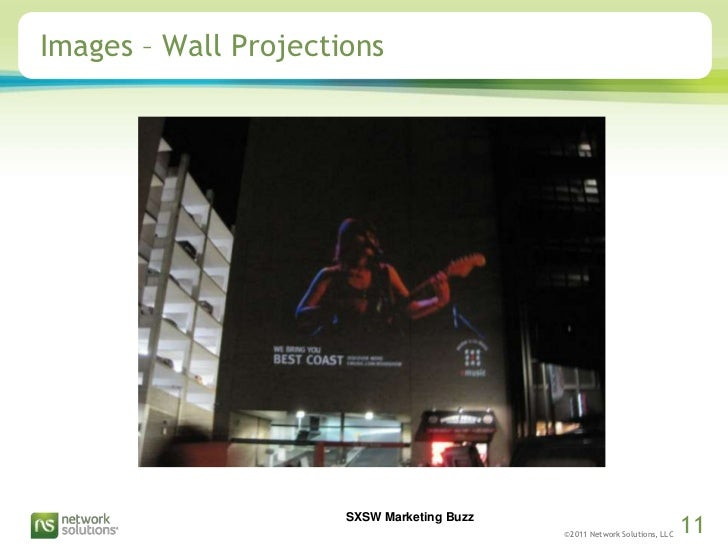 Images – Wall Projections<br />