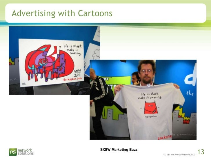 Advertising with Cartoons<br />