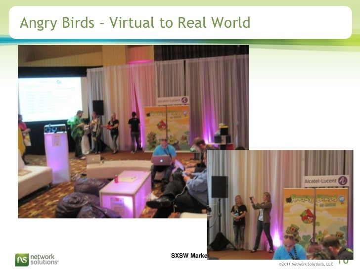 Angry Birds – Virtual to Real World<br />