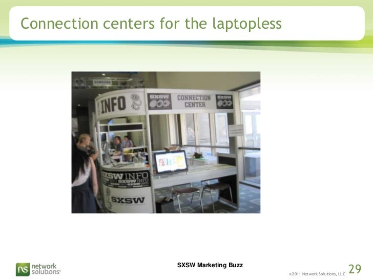 Connection centers for the laptopless<br />