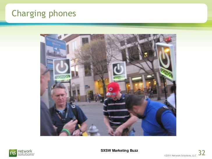 Charging phones<br />