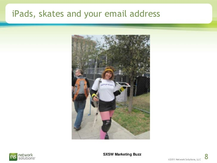 iPads, skates and your email address<br />