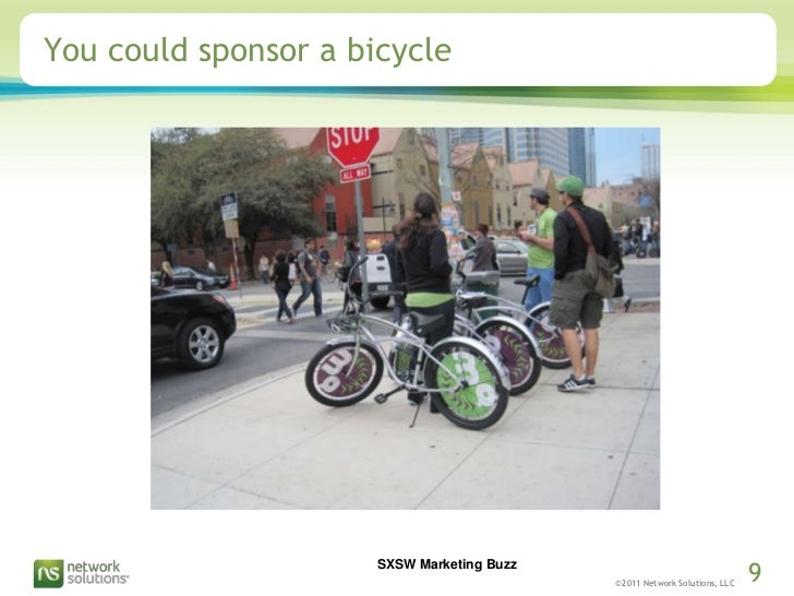 You could sponsor a bicycle<br />