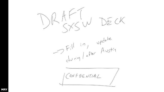 SXSW Interactive 2015 Recap draft Needs catchy name – maybe some kind of Austin/TX pun? - Keep Austin Virtual - Too Many B...