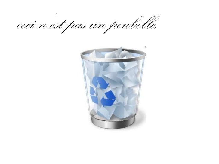 cecin'est pas un poubelle.<br />
