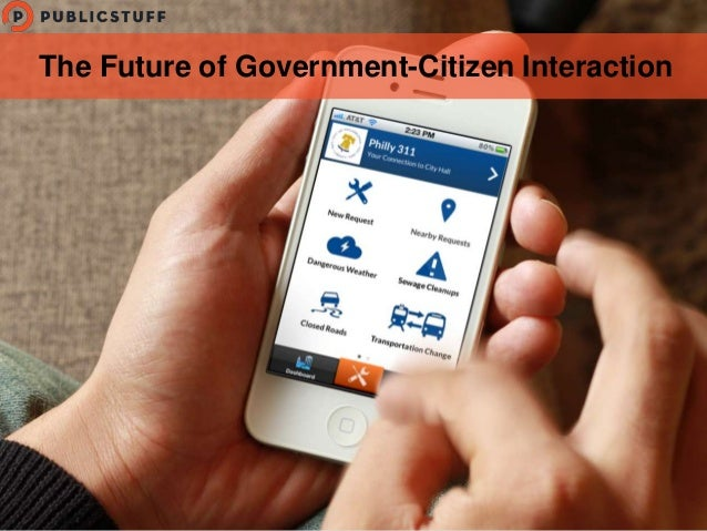The Future of Government-Citizen Interaction