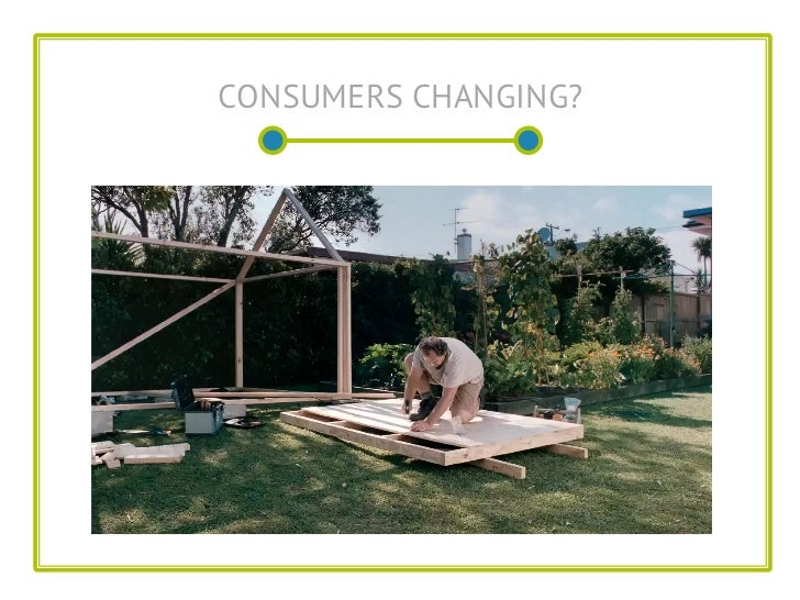 CONSUMERS CHANGING?
