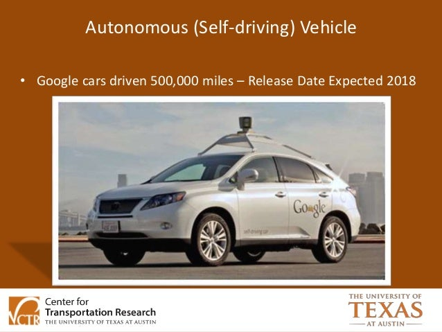 Driverless Cars Implications For Travel Behavior