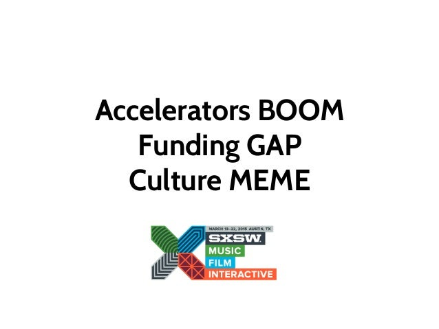 Accelerating Startups in Europe. What's different? Slide 2