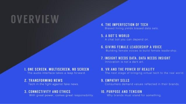 Y&R's SXSW Takeaways 2017  Slide 2