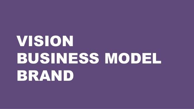 VISION BUSINESS MODEL BRAND