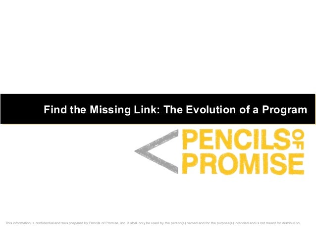 This information is confidential and was prepared by Pencils of Promise, Inc. It shall only be used by the person(s) named...