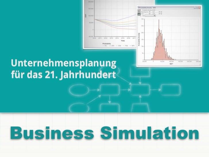 Unternehmensplanungfür das 21. JahrhundertBusiness Simulation