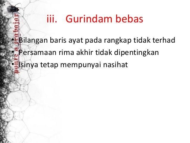 Contoh Gurindam Nasihat Pergaulan Contoh Rdw