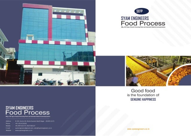 Conveyors & Food Processing Machinery By Syam Engineers Food Process