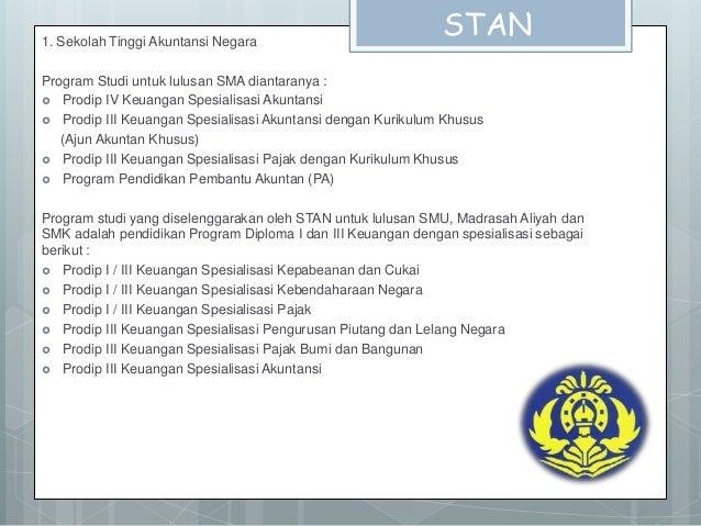 Syarat Pendaftaran STAN Slide 2