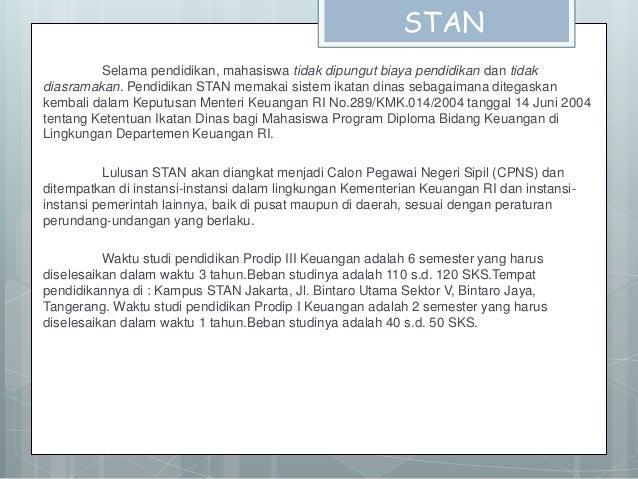 Syarat Pendaftaran STAN Slide 3