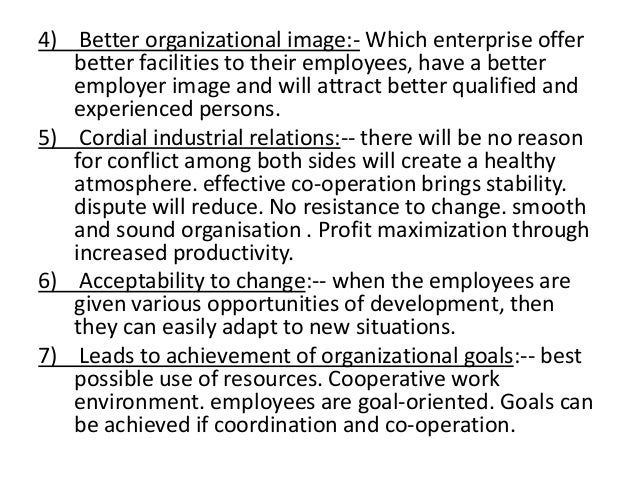 organizational efforts to improve performance employees resistance to increase productivity and the  Types of change and its impact on motivation performance of the employees and the organizational performance and their productivity will be increase.