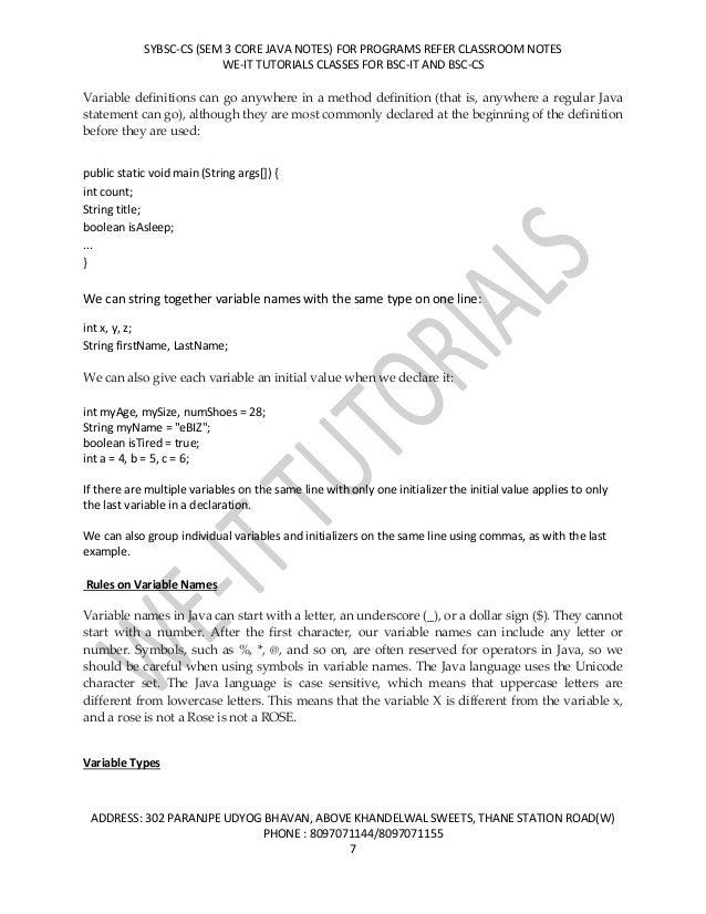Syllabus of Mumbai University - Bachelor of Science (BSc) Information Technology