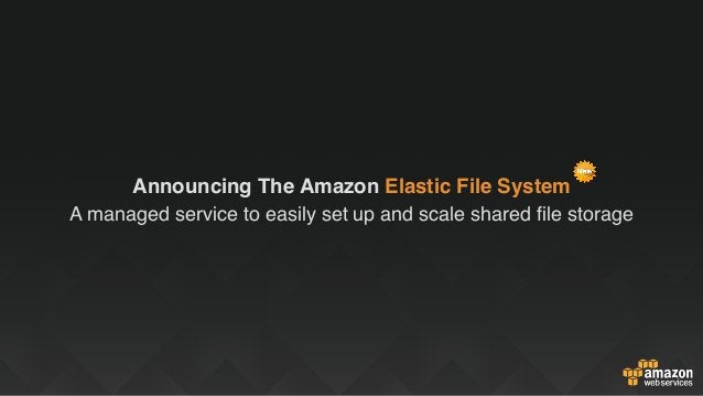 Sources of Truth Analysis PlatformsHigh Performance Databases Fully Loaded For Big Data Amazon S3 Amazon Glacier Amazon EF...