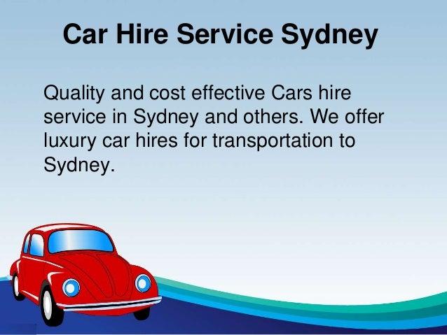 Hire Car Sydney Airport Transfer