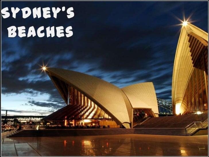 Sydney's <br />Beaches<br />