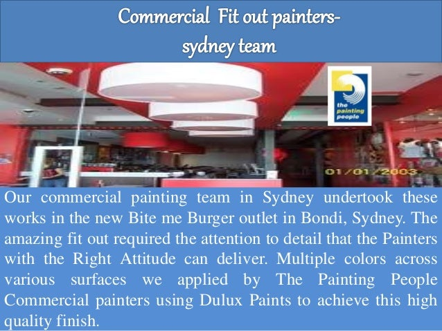 Sydney commercial painting