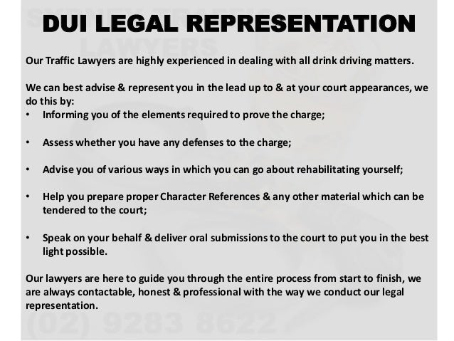 Information on Drink Driving Offences in NSW - Sydney DUI Lawyer