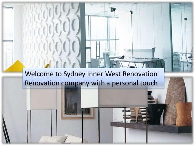 Sydney inner west renovations for Renovations sydney