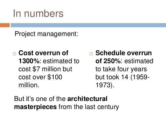sydney opera house cost overrun