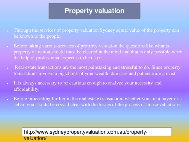 property valuers in sydney - photo#14