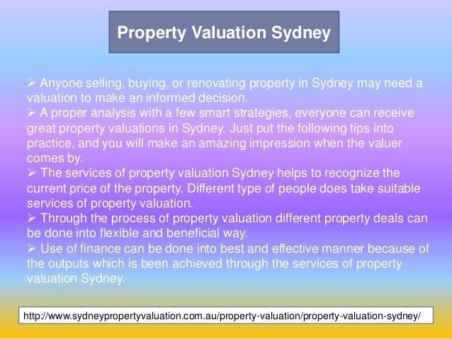 property valuers in sydney - photo#20