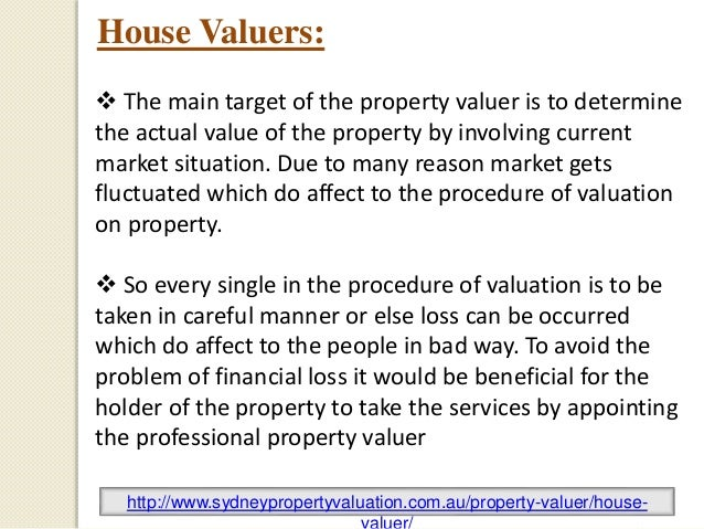 property valuers in sydney - photo#13