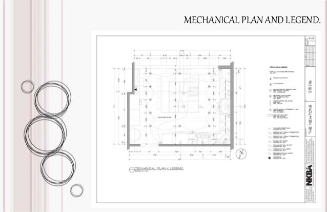 MECHANICAL PLAN AND LEGEND