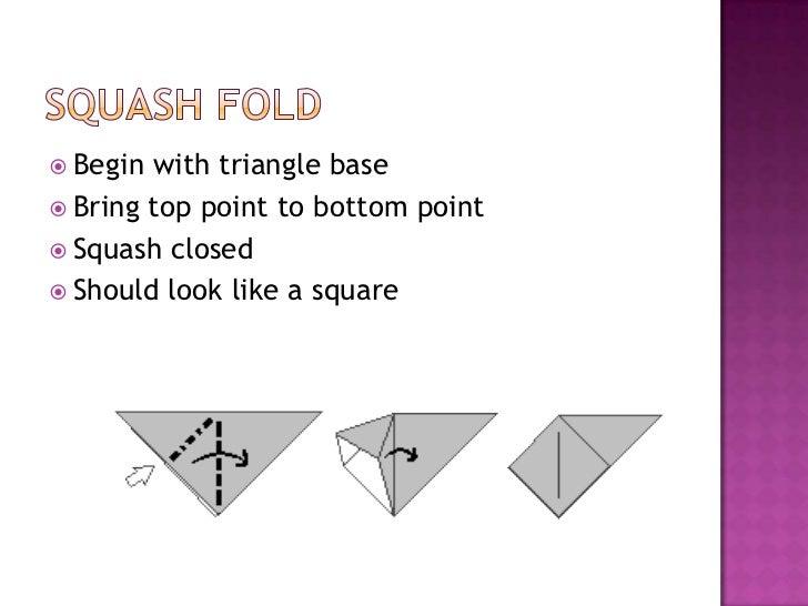Basic Origami Folds
