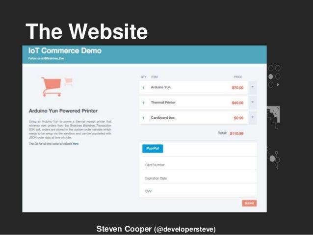 The Website Steven Cooper (@developersteve)