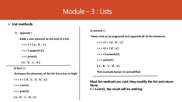 15CS664- Python Application Programming - Module 3