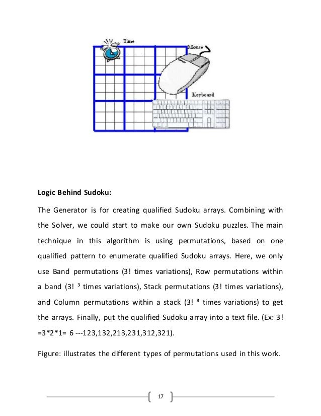 Help Designing 9x9 Small Bedroom: Project Report On Sudoku