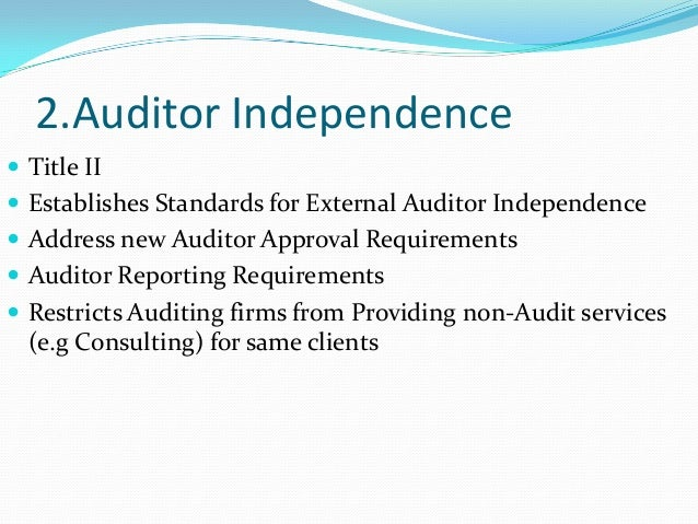 safeguard of auditor independence 625 gazette supplement wednesday 10 june 2015 • supplement (1) to no 5099 • vol 145 policy to safeguard the independence of the external and the internal auditors.