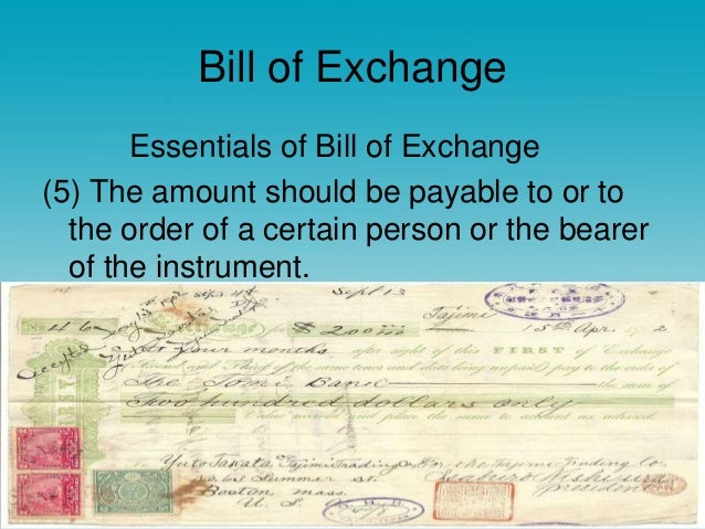 Promissory note bill of exchange bill of exchange altavistaventures Gallery
